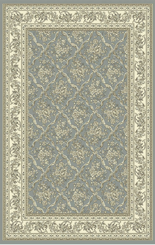 Dynamic LEGACY 58018 LIGHT BLUE/IVORY Rug