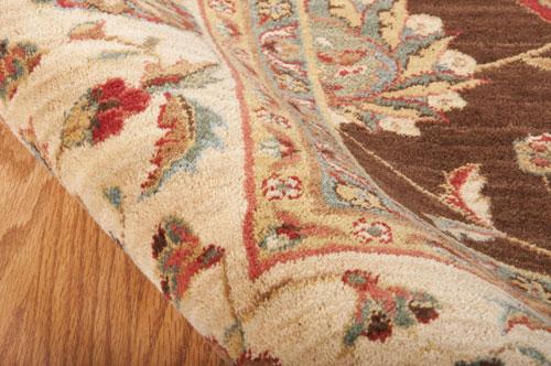 Nourison LIVING TREASURES LI04 BROWN Detail