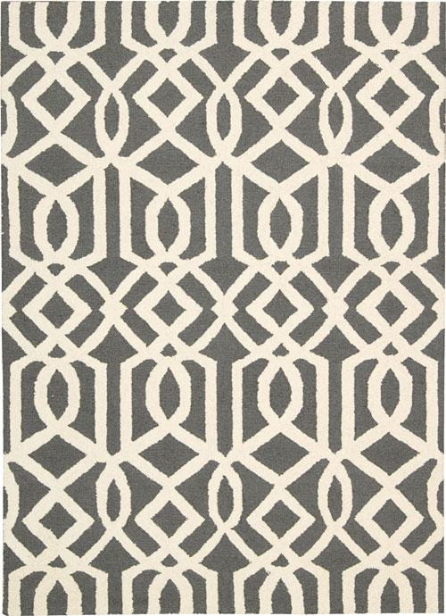 nourison linear lin05 grey/ivory