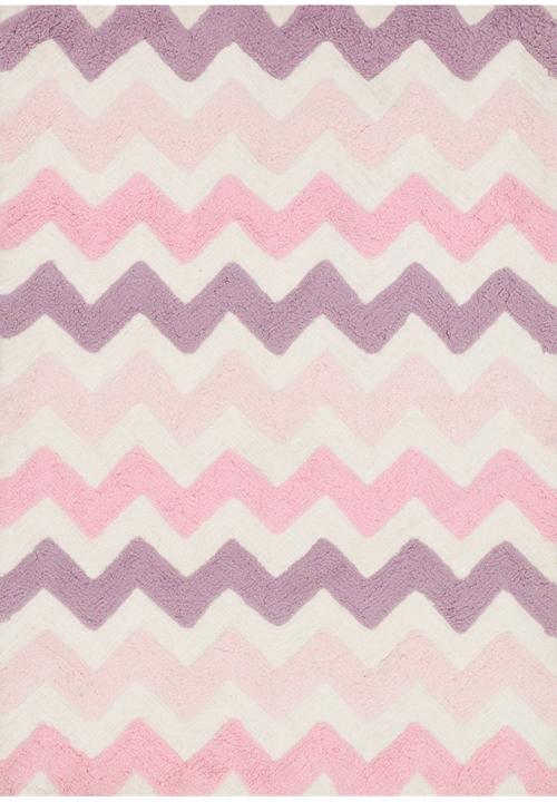 loloi lola shag ll-03 pink/purple