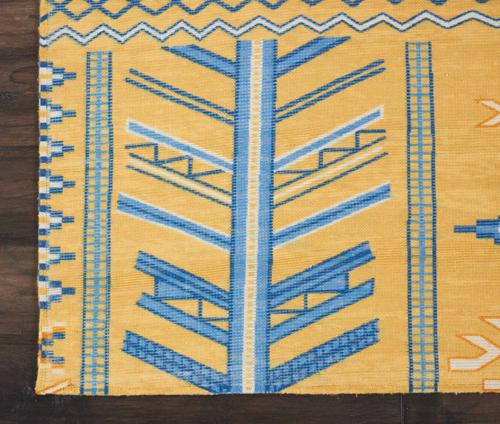 Nourison MADERA MAD05 SAFFRON Detail