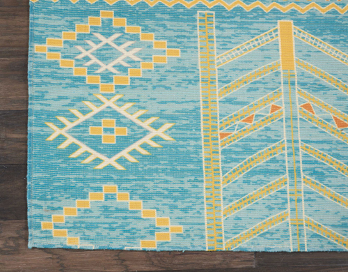 Nourison MADERA MAD05 SKY BLUE Detail
