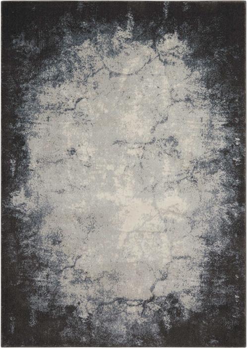 nourison maxell mae01 iv/grey