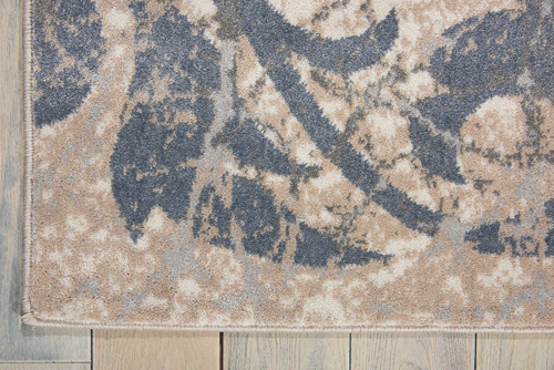 Nourison MAXELL MAE10 IVORY BLUE Detail