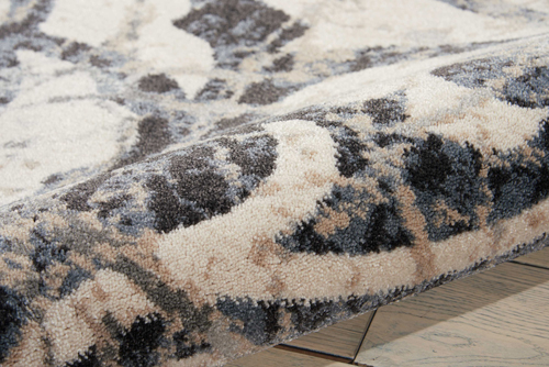 Nourison MAXELL MAE10 IVORY/CHARCOAL Detail