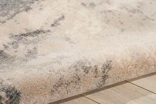 Nourison MAXELL MAE13 IVORY/GREY Detail