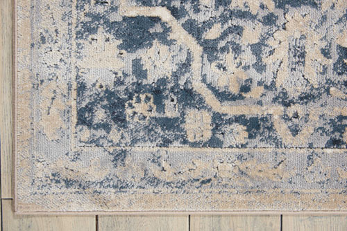 Kathy Ireland KI25 MALTA MAI04 IVORY BLUE Detail
