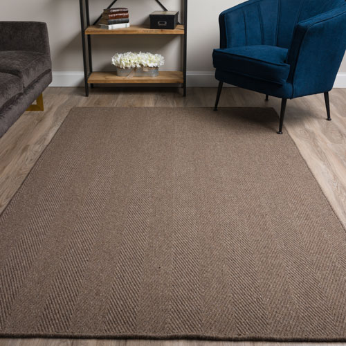 Dalyn Monaco Sisal MC200 Charcoal Detail