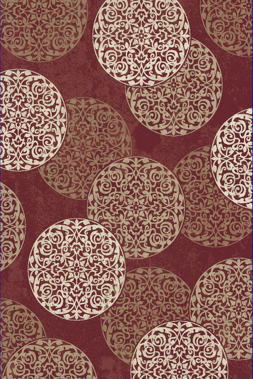 Dynamic MELODY 985014 RED Rug