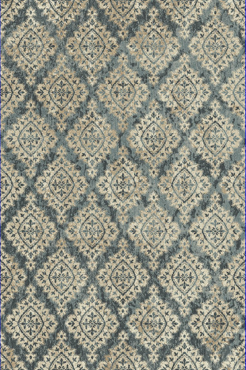 Dynamic MELODY 985015 BLUE Rug