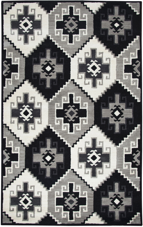 Rizzy Home Gray Rug Marianna Fields Mf090a