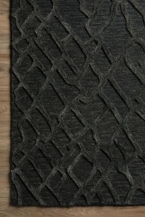Dalyn Mojave MJ1 Black Detail