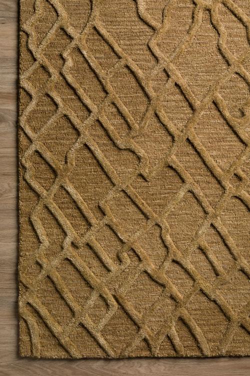 Dalyn Mojave MJ1 Walnut Detail