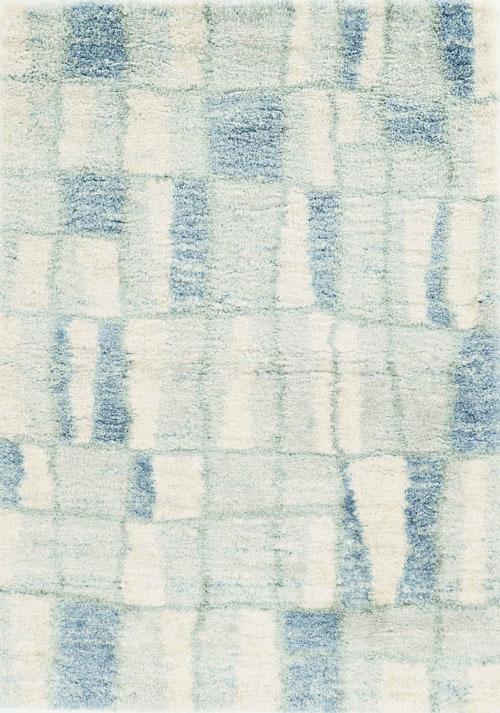 Kas Ivory Blue Rug Merino 6704 Mer6704710x910 The Rug