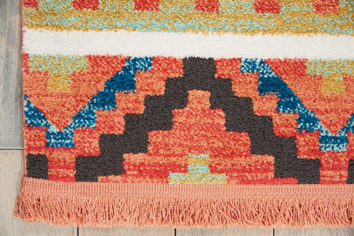 Nourison NAVAJO NAV04 ORANGE Detail