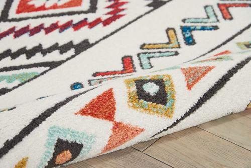 Nourison NAVAJO NAV06 WHITE Detail