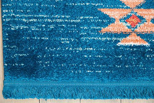 Nourison NAVAJO NAV07 BLUE Detail