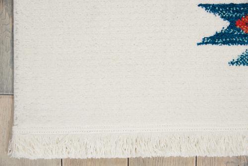 Nourison NAVAJO NAV07 WHITE Detail