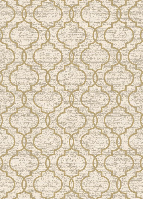concord global new casa quatrefoil yellow