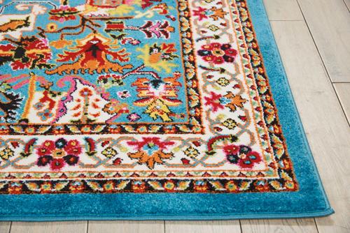 Nourison OAKDALE OKD06 BLUE Detail