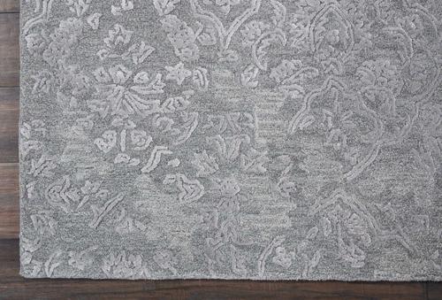 Nourison OPALINE OPA14 CHARCOAL/SILVER Detail