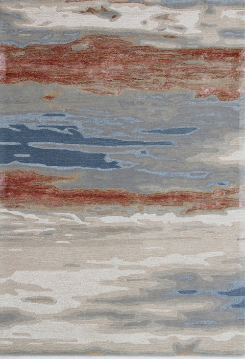 Dynamic OPAL 1853 RUST BLUE Rug