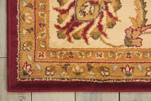 Nourison PARAMOUNT PAR09 RED Detail