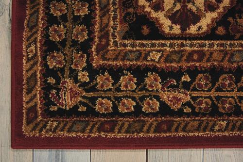Nourison PARAMOUNT PAR21 RED Detail