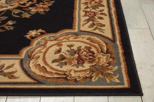 Nourison PARAMOUNT PAR37 BLACK Detail