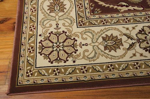 Nourison PERSIAN CROWN PC001 BRICK Detail