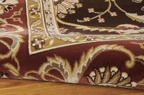Nourison PERSIAN CROWN PC001 DARK BROWN Detail