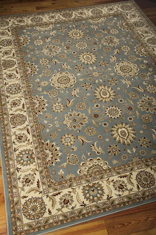 Nourison PERSIAN CROWN PC002 BLUE Detail