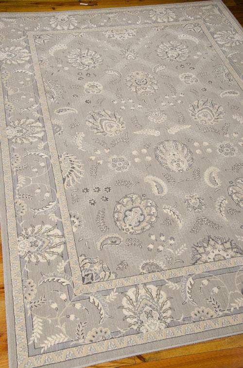 Nourison PERSIAN EMPIRE PE22 FLINT Detail