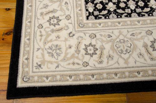 Nourison PERSIAN EMPIRE PE26 BLACK Detail