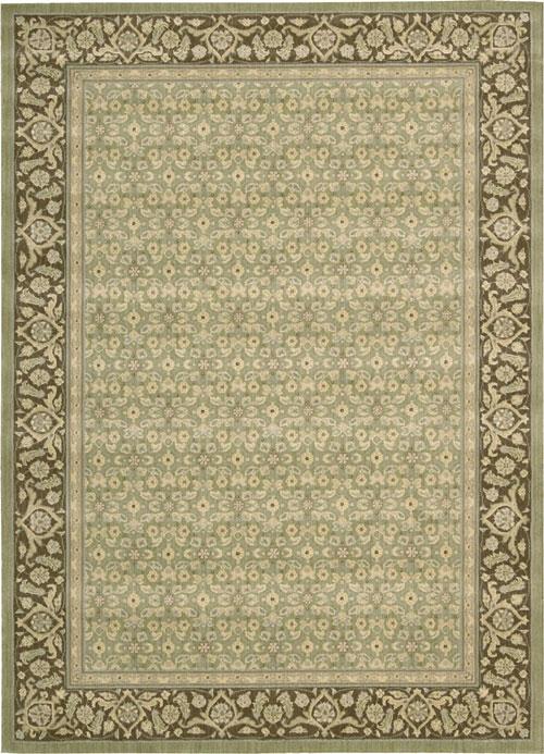 Nourison PERSIAN EMPIRE PE26 GREEN Rug
