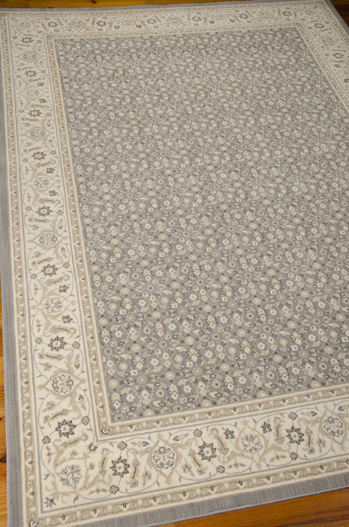Nourison PERSIAN EMPIRE PE26 SILVER Detail