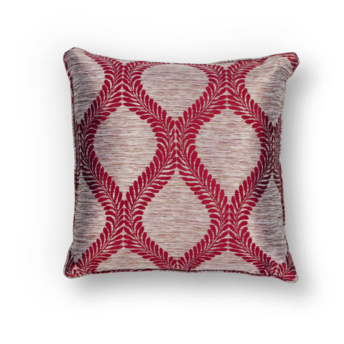 kas pillows pillow l239 red pillow