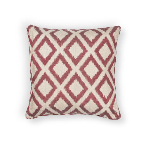 kas pillows pillow l243 red pillow