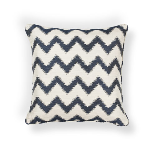 kas pillows pillow l244 ivory/navy pillow