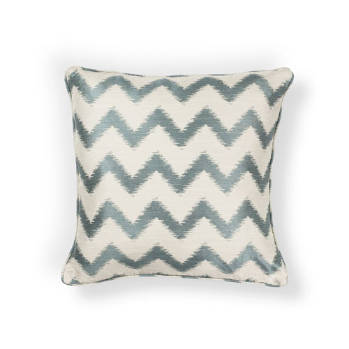 kas pillows pillow l245 ivory/lt.blue pillow