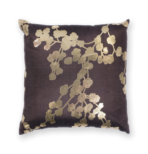 kas pillows pillow l296 chocolate pillow