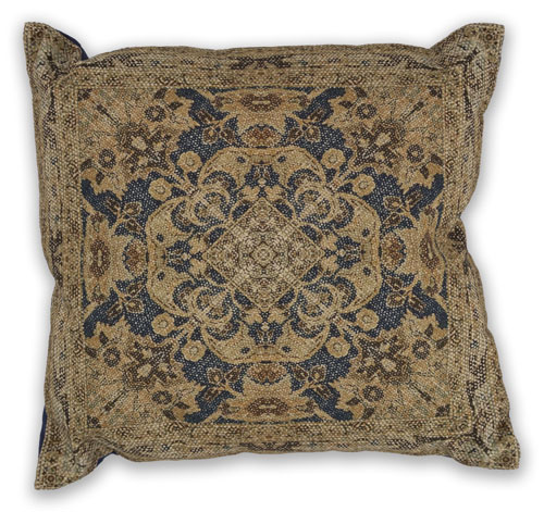 kas pillows pillow l317 navy pillow