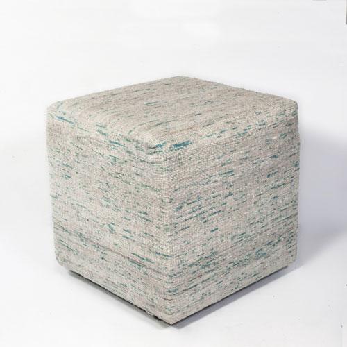 kas poufs pouf f801 ice blue pouf