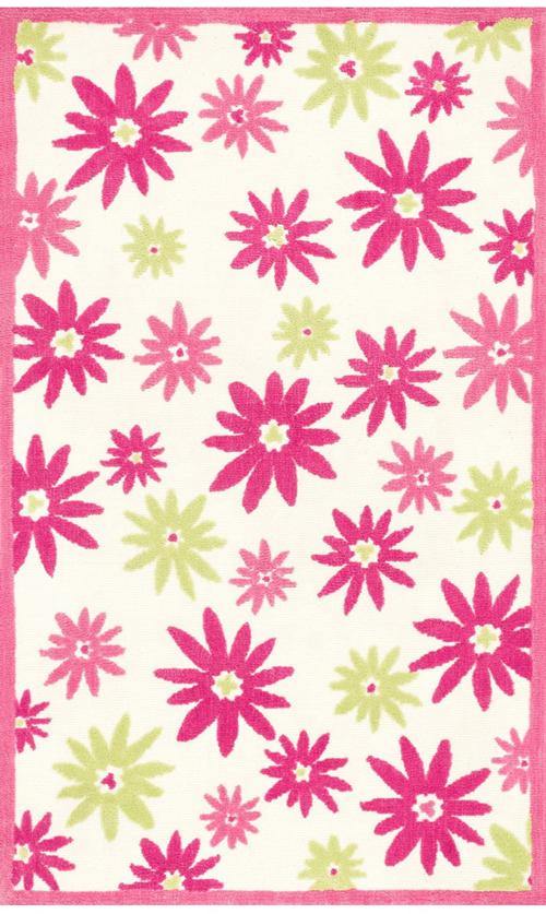 loloi piper pi-10 pink/green