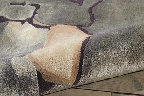 Nourison PRISMATIC PRS02 BEIGE/SILVER Detail