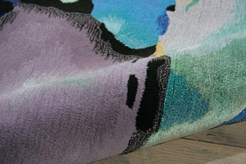 Nourison PRISMATIC PRS04 SEAGLASS Detail