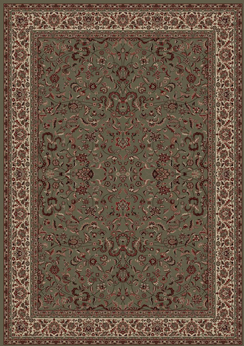 Concord Global Persian Classics KASHAN GREEN Rug