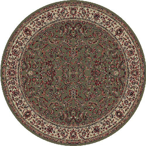 Concord Global Persian Classics KASHAN GREEN Detail