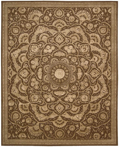 Nourison REGAL REG02 CHOCOLATE Rug