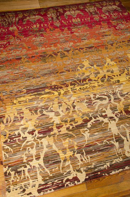 Nourison RHAPSODY RH001 SUNRISE Detail